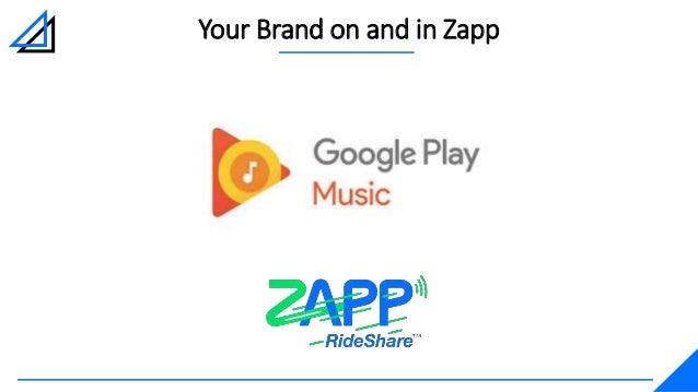 Google Play Music and ZAPP RideShare