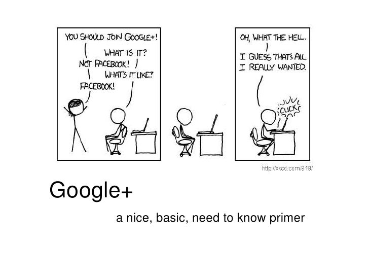 Google+<br />a nice, basic, need to know primer<br />
