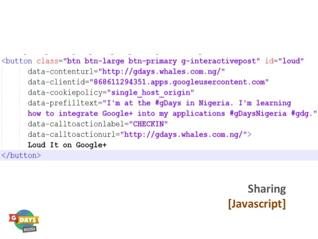 Sharing [Javascript]