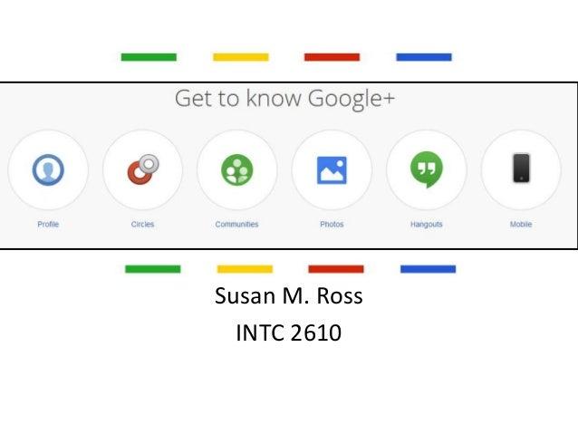 Susan M. Ross INTC 2610