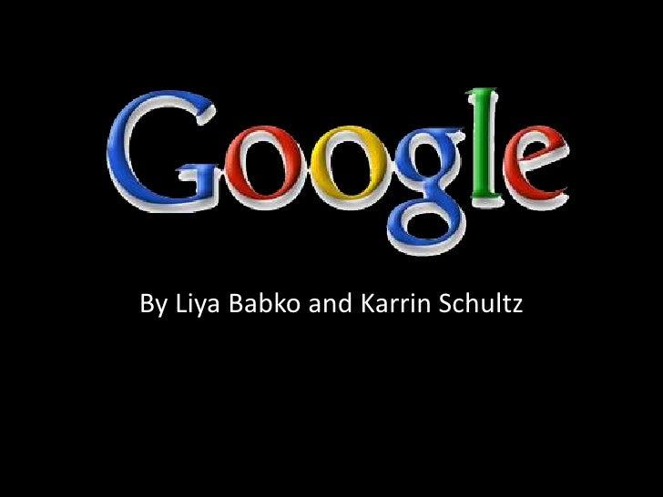 By LiyaBabko and Karrin Schultz<br />