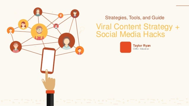 $ $ $ Viral Content Strategy + Social Media Hacks Taylor Ryan CMO, Valuer.ai Strategies, Tools, and Guide