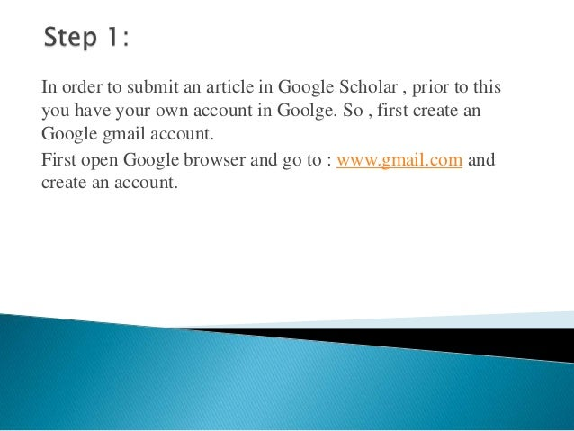 google scholar Instructions on how to set up google scholar so that it links seamlessly to online journal articles subscribed to by the open university library.