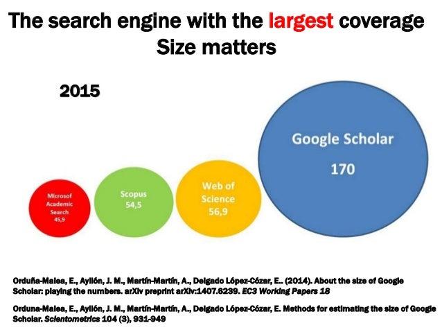 The google scholar revolution a big data bibliometric tool 2017 40 stopboris Choice Image