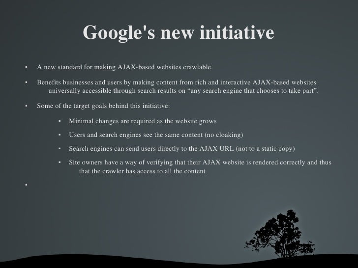 Google Searchable Ajaxed Content Slide 3