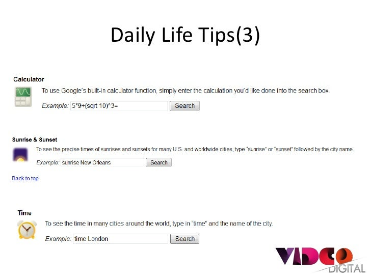 Daily Life Tips(3)