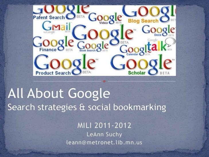 MILI 2011-2012      LeAnn Suchyleann@metronet.lib.mn.us