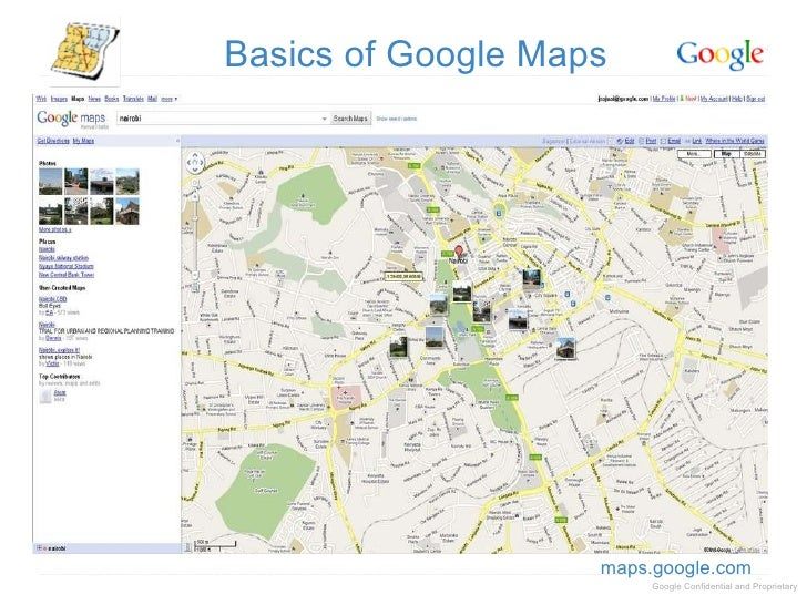 Google search tools in the newsroom on