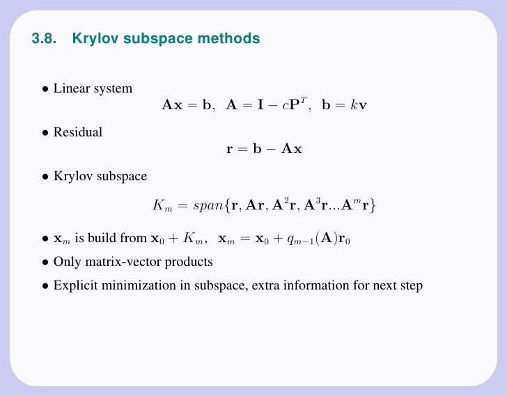 numerical linear algebra datta pdf