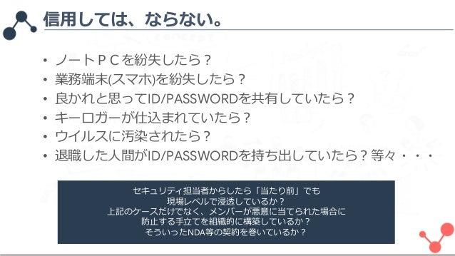 Googleアカウントの権限管理について - Google Services Account Security on GA GoogleAds GMB GSC GTM_1811 Slide 2