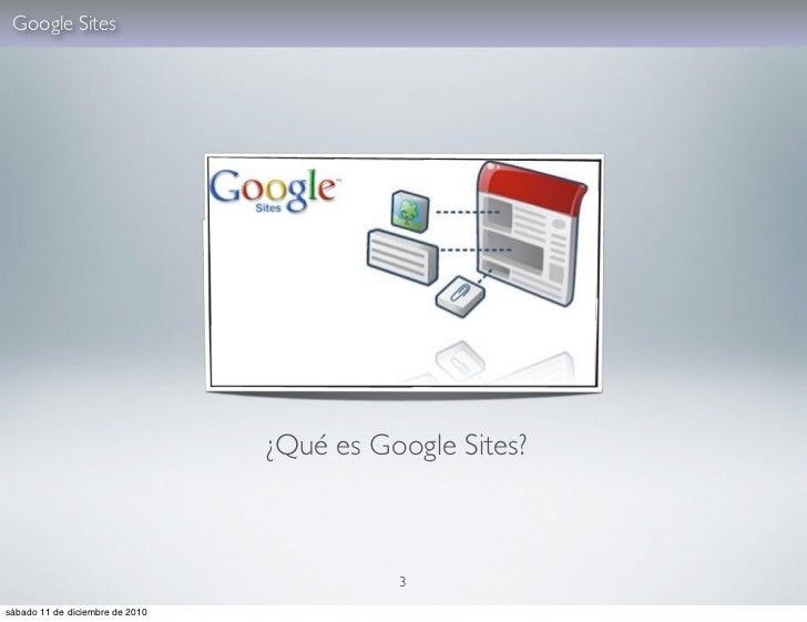 Tutorial Google Sites Slide 3