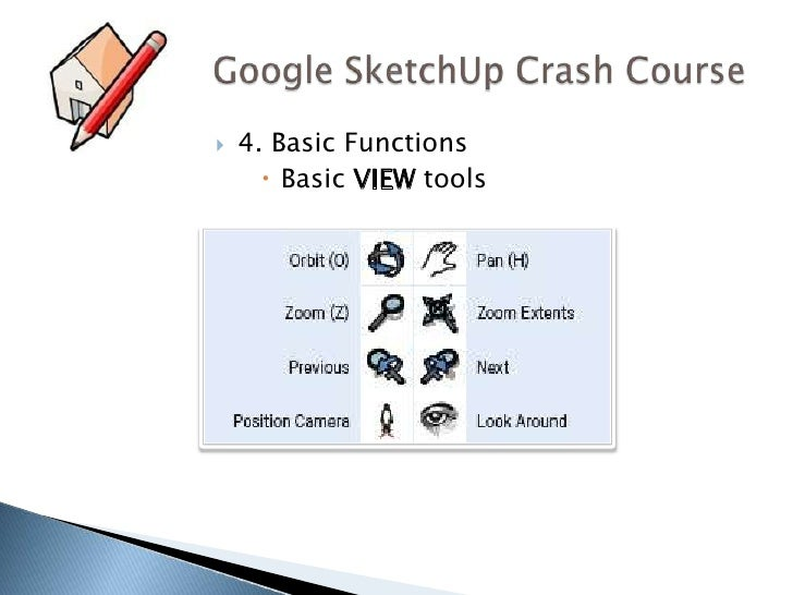 Google SketchUp: A Crash Course