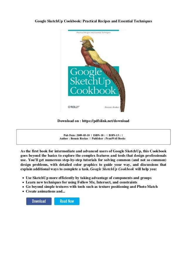 google sketchup techniques