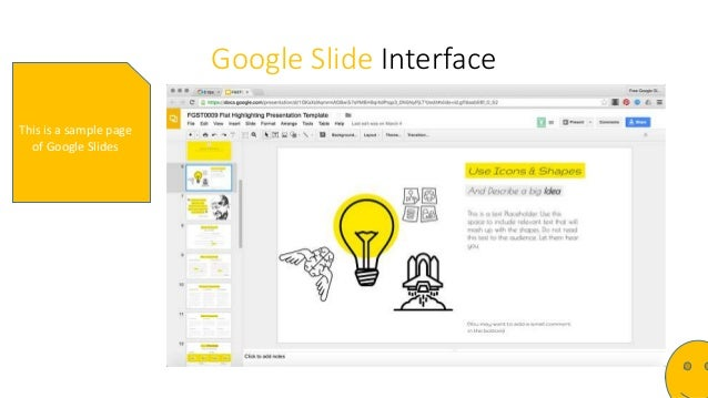 google slide tutorial with presentation