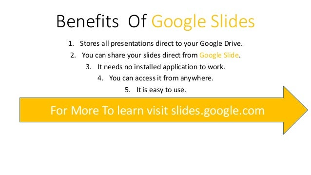 google slide tutorial with presentation