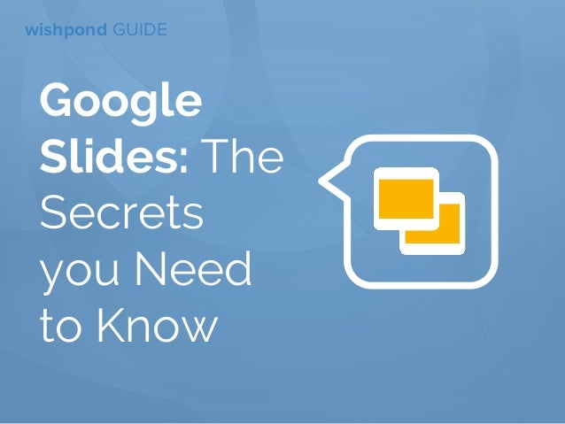 google slides functions you need to know
