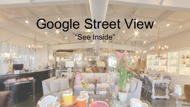 "Google Street View ""See Inside"""