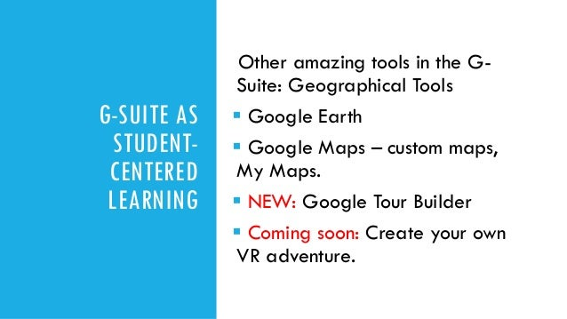 G-Suite for Education - Methods and Modes