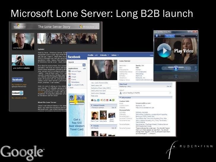 Microsoft Lone Server: Long B2B launch