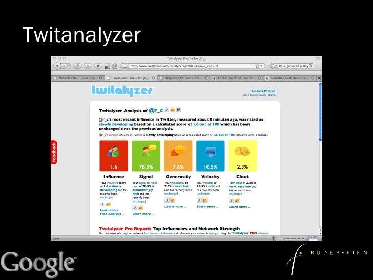 Twitanalyzer