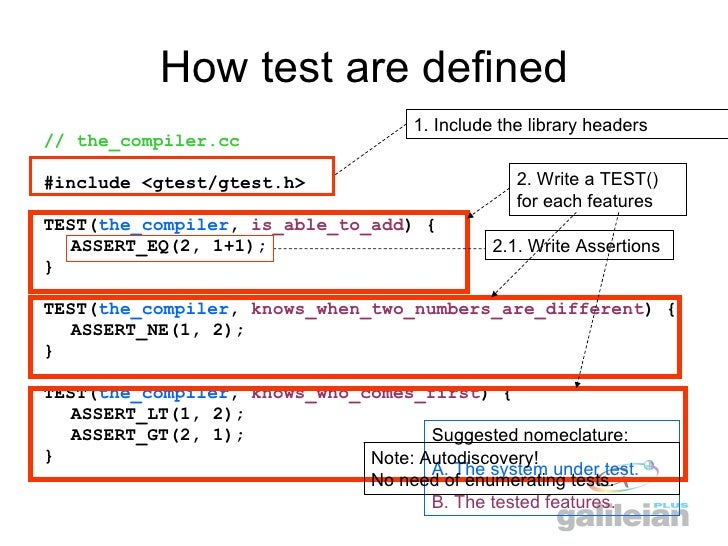 google-test - Wiki - Command and Data Handling