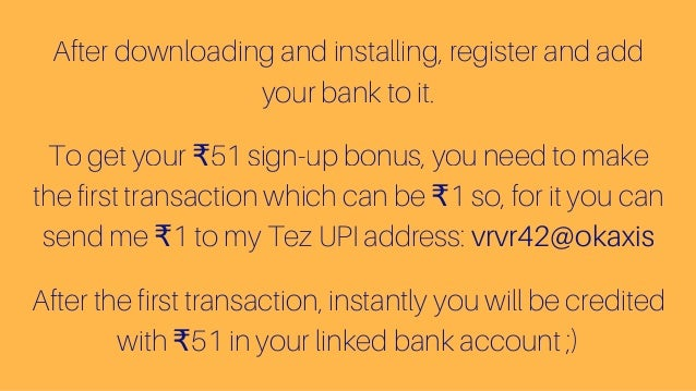 download google tez app earn up to 9000 free