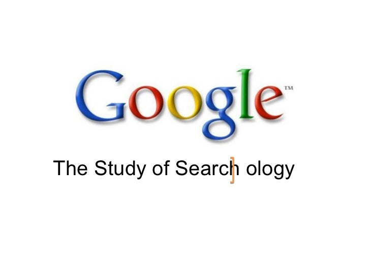 The Study of Search ology