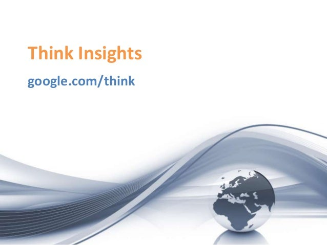 Think Insights google.com/think
