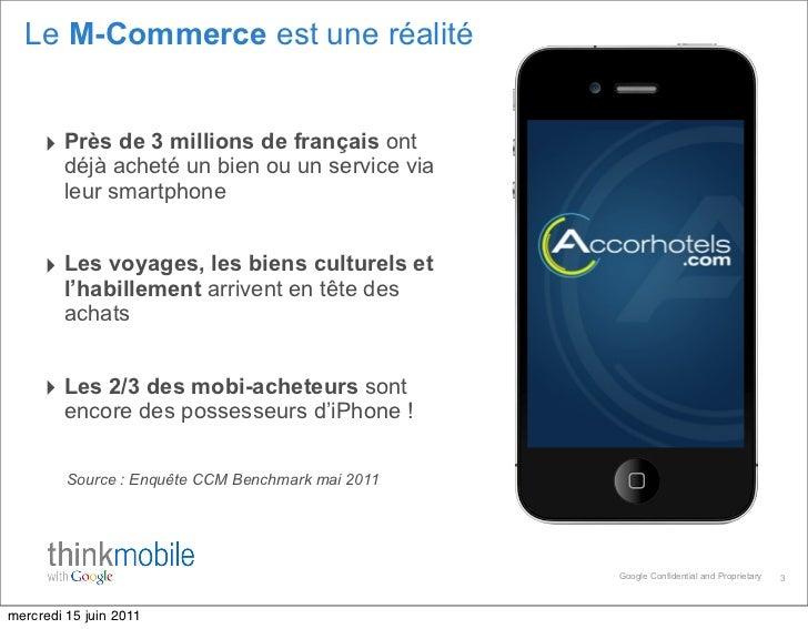 M-Commerce : stratégies marketing gagnantes sur le mobile et les tablettes Slide 3