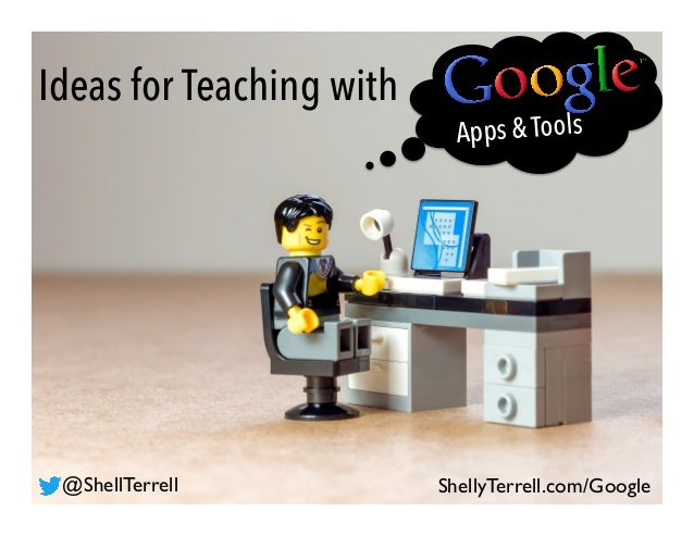 Ideas for Teaching with Apps & Tools ShellyTerrell.com/Google@ShellTerrell