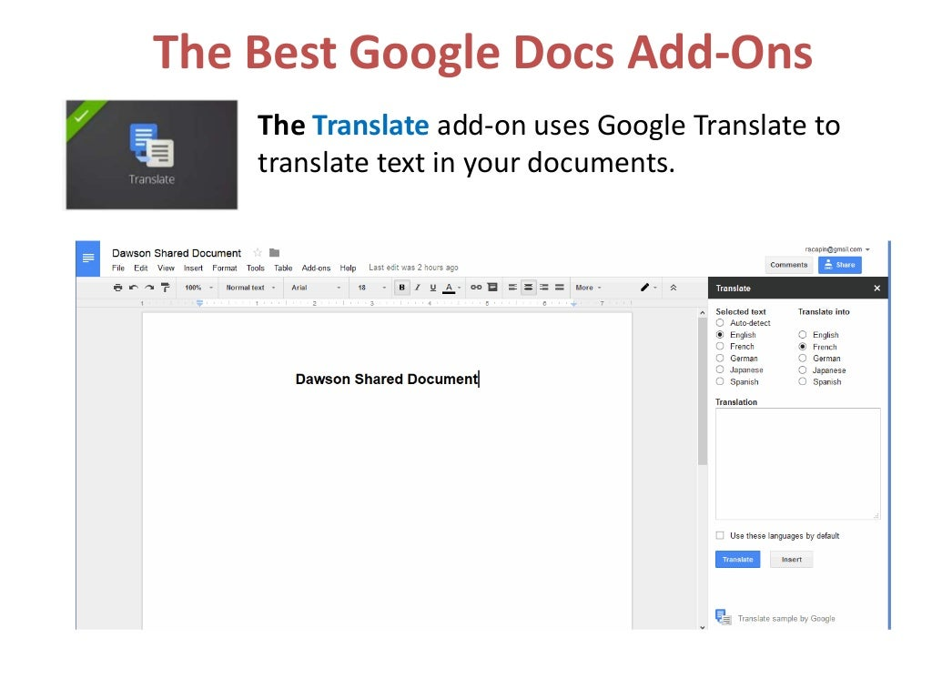 The best google docs add ons for Google docs add highlight