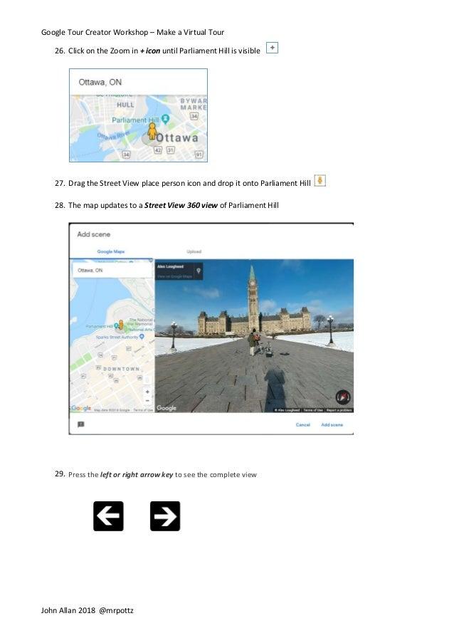 Creating a Virtual Tour with Google Tour Creator
