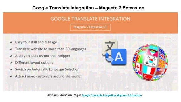 Google Translate Integration – Magento 2 Extension