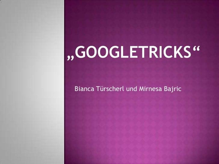 Bianca Türscherl und Mirnesa Bajric