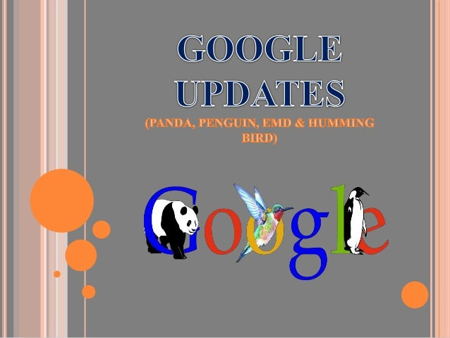  Google Panda is named after one of the Google's top engineers, Navneet Panda. Google launched Panda update in the mid of...