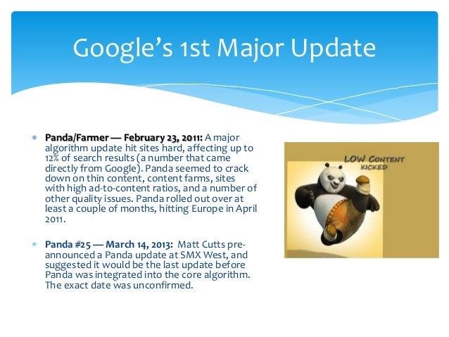Google updates that changed the seo world   presentation Slide 2