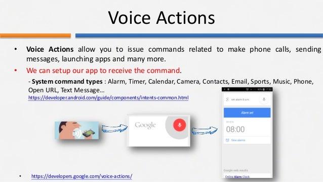 Google Voice Actions