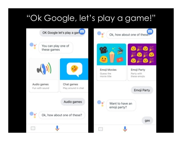 """""""Ok Google, let's play a game!"""""""