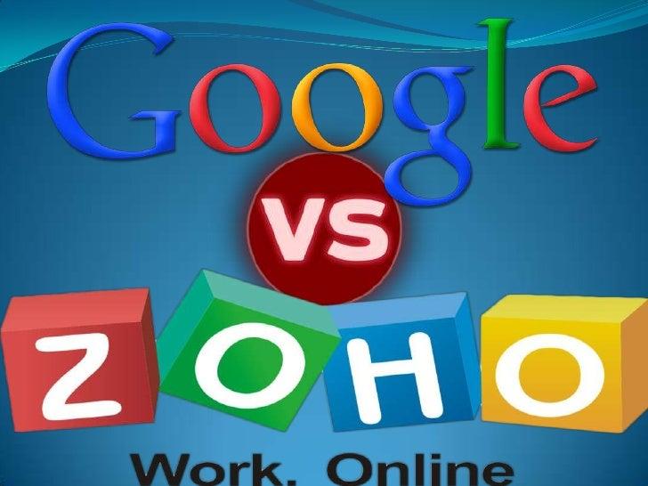 Google Docs:                                  Zoho Docs: Programa gratuito de la empresa Google  Programa gratuito en la...