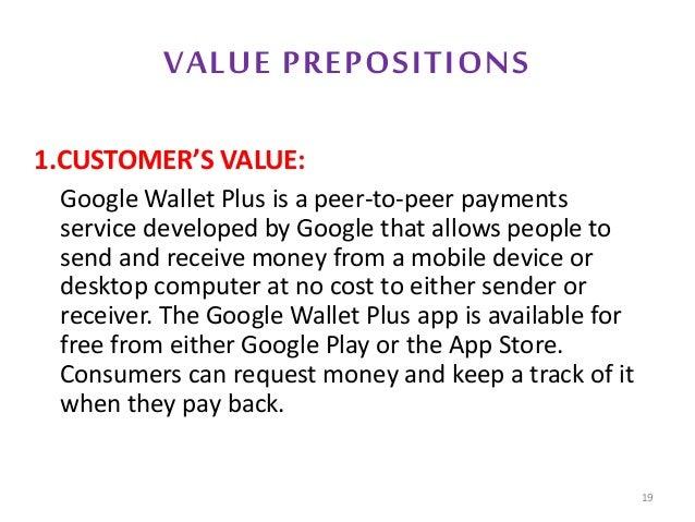 Google wallet plus  Marketing Plan