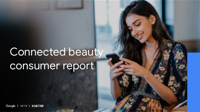 Connected beauty consumer report