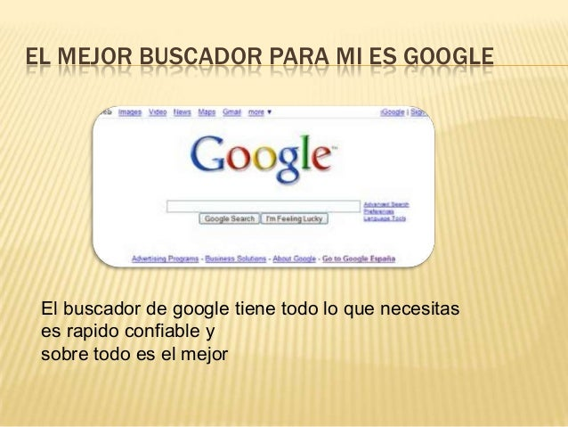 Google y sus maravilosas aplicasiones Slide 2