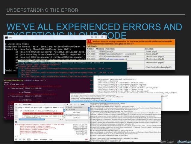 Googling the Error Message Slide 3