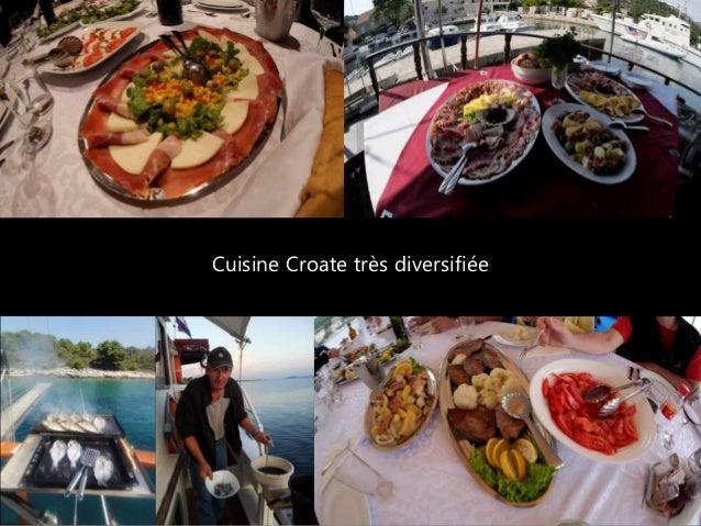 Cuisine Croate très diversifiée