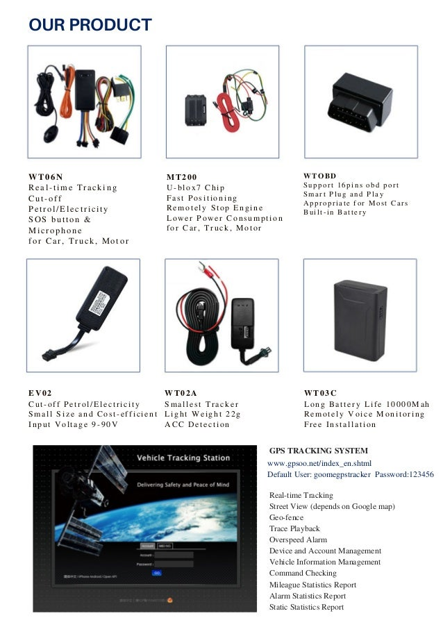 Goome gps tracker -- Leading GPS Tracker Supplier in China