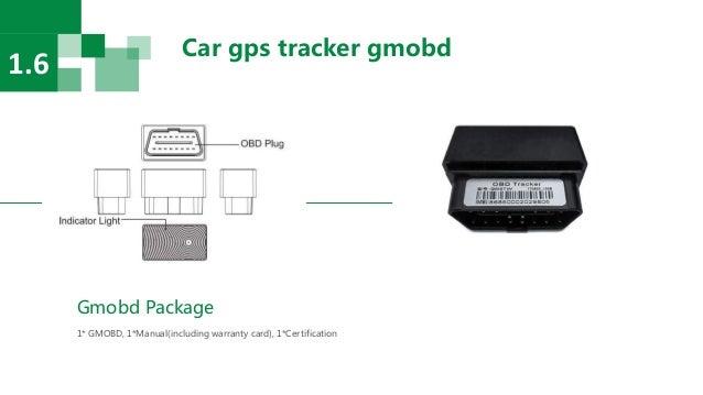 Car gps tracker gmobd 1.6 Gmobd Package 1* GMOBD, 1*Manual(including warranty card), 1*Certification