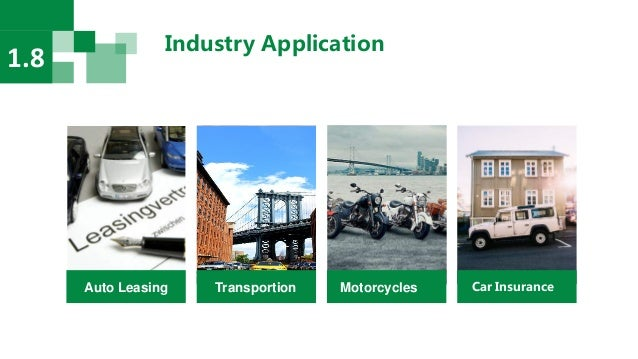 Industry Application 1.8 Auto Leasing Transportion Motorcycles Car Insurance