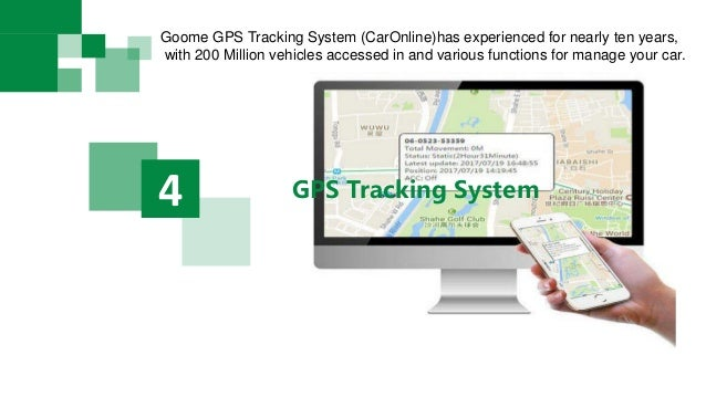 GPS Tracking System4 Goome GPS Tracking System (CarOnline)has experienced for nearly ten years, with 200 Million vehicles ...