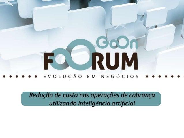 Inteligência Artificial na Cobrança A Eficiência com MICRO custo por negociação Click to edit Master title style • Click t...