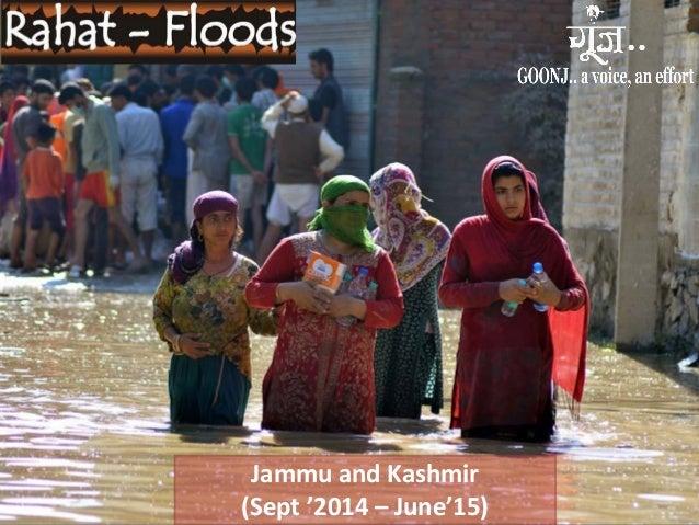 Jammu and Kashmir (Sept '2014 – June'15)